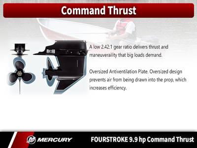 2018 Mercury Marine® FourStroke 9 9 HP Command Thrust Base